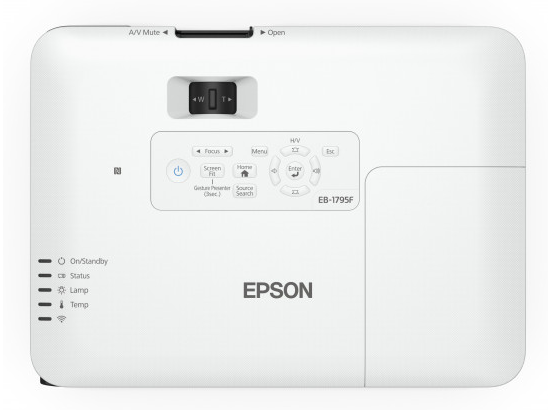 Epson EB-1795F - 3200 Lumens 1920 x 1080 (Full HD) Resolution Epson Projector
