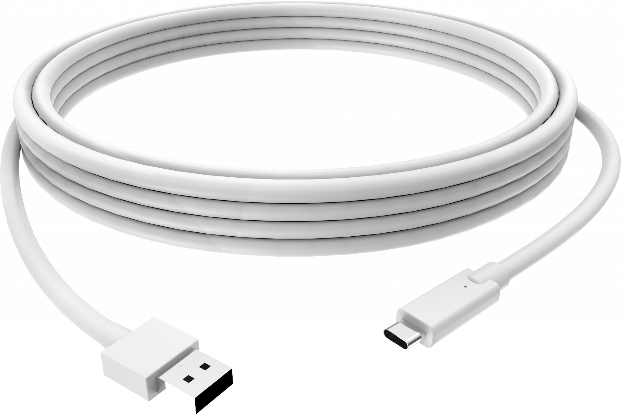 Vision - 3m White USB-C to USB-3.0A Cable (TC 3MUSBCA)