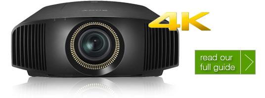 4K UHD Projector Guide
