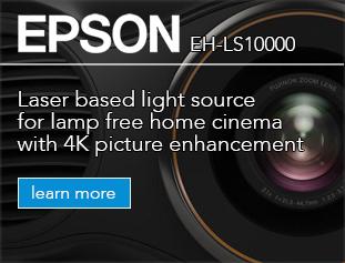Epson EH-LS10000, 4K laser light source