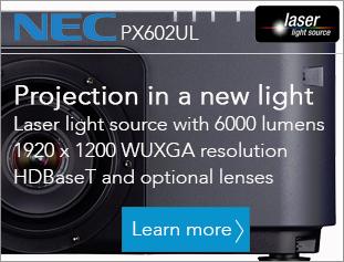 NEC PX602UL Laser light source FULL HD Projector