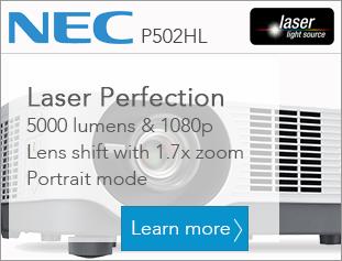 NEC P502HL Laser light source FULL HD Projector
